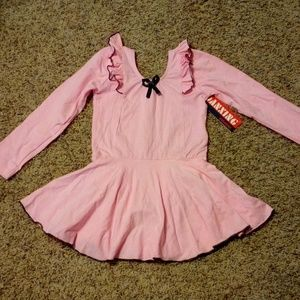 Other - New girls ballet dance leotard dress long sleeve